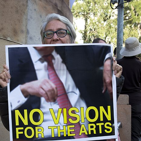 No vision for the arts