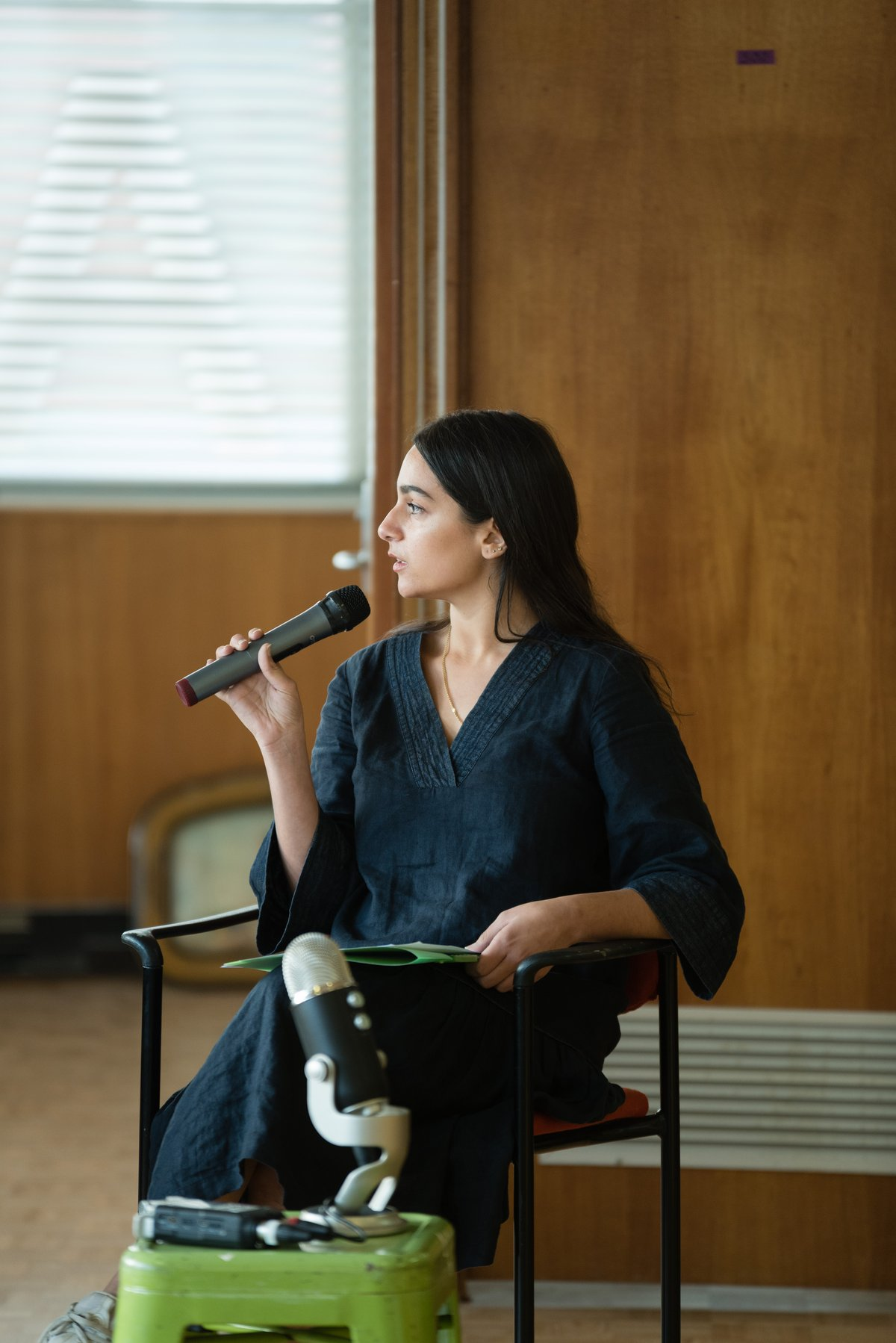 Justine Youssef in conversation with artist run initiatives at Hobiennale