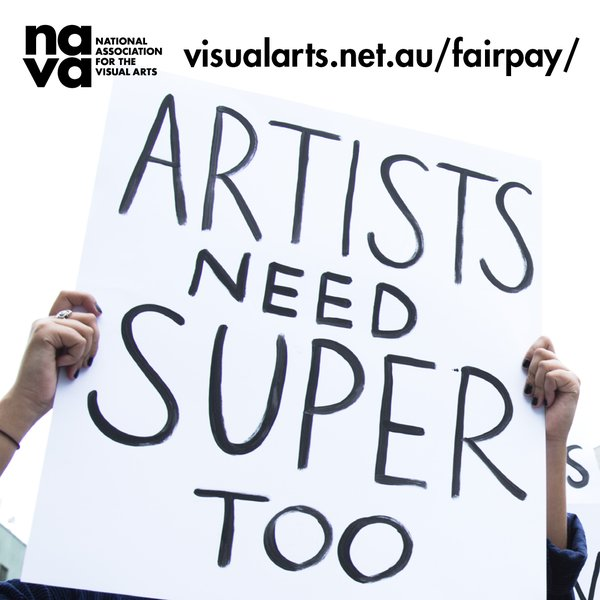 Artists need super too