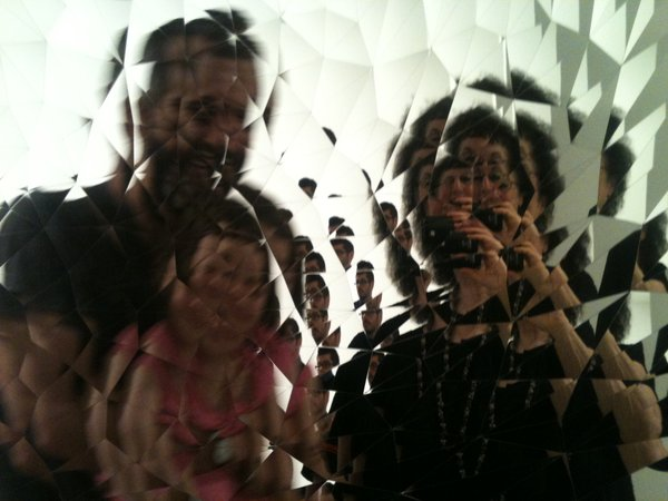 fragmented mirror