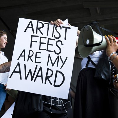 Artists Fees are my Award