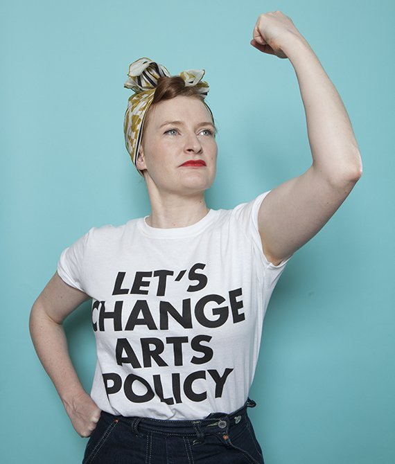 Let's change arts policy