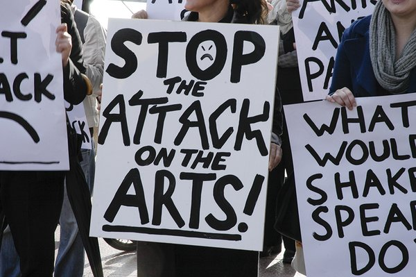 Stop the attack on the arts