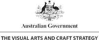 Australian Government Visual Arts and Craft Strategy logo